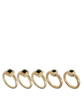 Image 1 ofPieces Virtu Set Of Five Rings