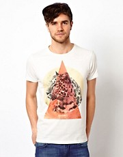Jack & Jones T-Shirt With Leopard Print