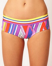 Juicy Couture Diamond Stripe Boy Short Bottom