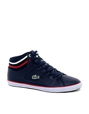 Lacoste Camous Leather Trainers
