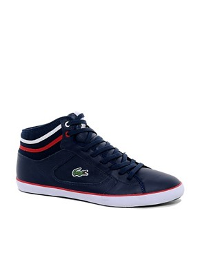 Image 1 of Lacoste Camous Leather Trainers