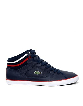 Image 4 of Lacoste Camous Leather Trainers