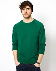 ASOS Raglan Crew Neck Sweatshirt