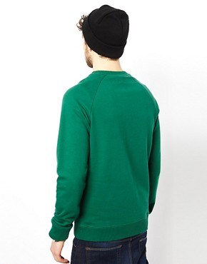 Image 2 ofASOS Raglan Crew Neck Sweatshirt