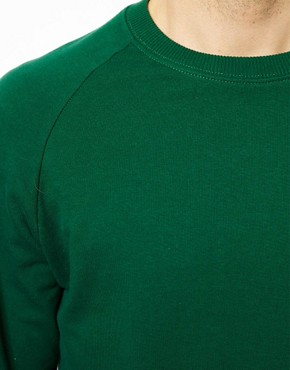 Image 3 ofASOS Raglan Crew Neck Sweatshirt