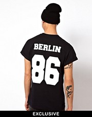 Reclaimed Vintage Berlin Baseball T-Shirt