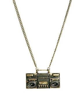 Image 1 of ASOS Ghetto Blaster Necklace