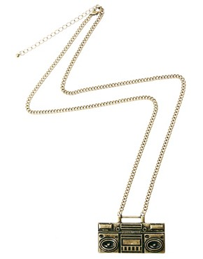 Image 2 of ASOS Ghetto Blaster Necklace