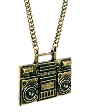 Image 4 of ASOS Ghetto Blaster Necklace