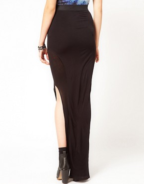 Image 2 ofImprovd Sunny Maxi Skirt with Side Slit