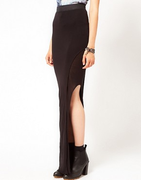 Image 4 ofImprovd Sunny Maxi Skirt with Side Slit