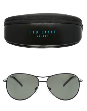 Image 2 ofTed Baker Carter Aviator Sunglasses