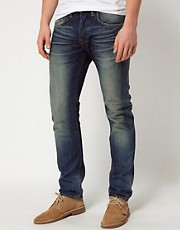 Vaqueros tapered holgados Oiler Wash ED-55 de Edwin
