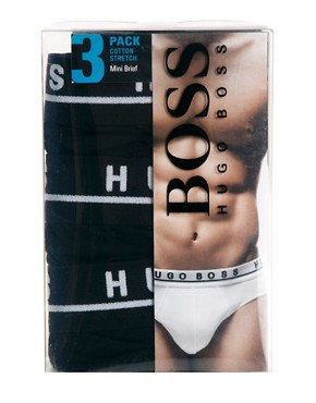 Image 4 ofBoss Black 3 Pack Brief