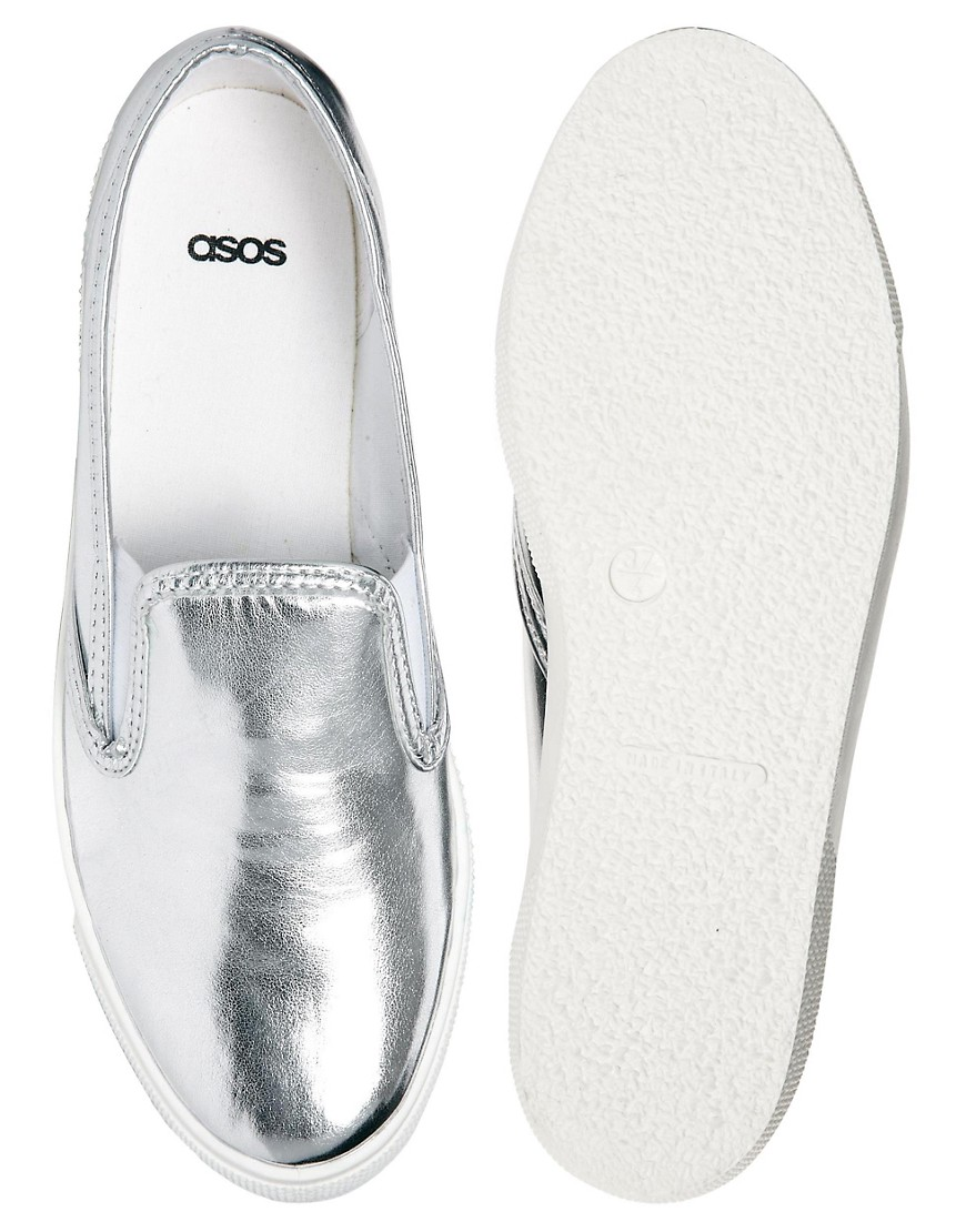 Image 3 of ASOS DOCKLAND Plimsolls