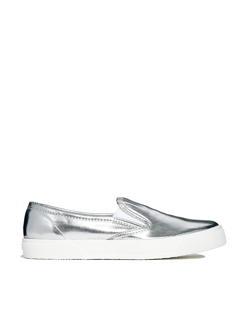 Image 1 of ASOS DOCKLAND Plimsolls
