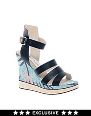 B Store Salavatore 12 Exclusive Wedge Sandals