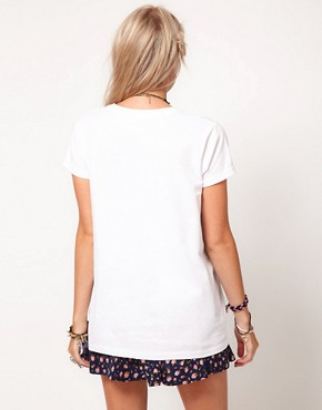 Image 2 ofASOS T-Shirt in Lost Youth Print