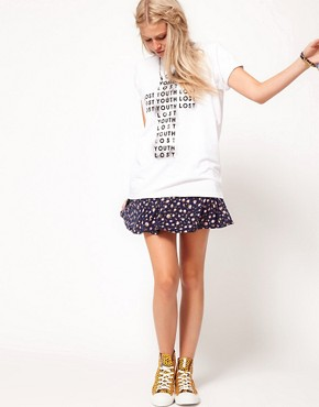 Image 4 ofASOS T-Shirt in Lost Youth Print