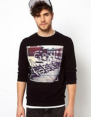ASOS Sweatshirt With Skate Print
