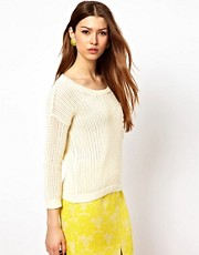 Max C Jumper With Lace Pocket