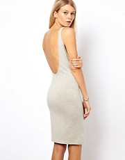 Vila Bodycon Dress with Deep Scoop Back