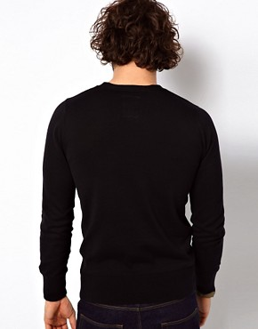 Image 2 ofG Star Jumper Amos Cotton Knit V-Neck