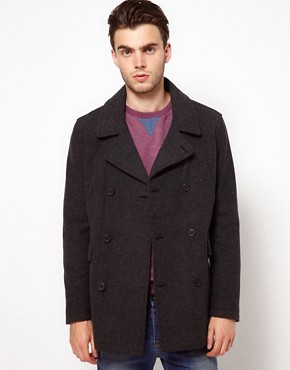 Image 1 ofASOS Wool Coat