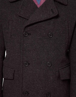 Image 3 ofASOS Wool Coat