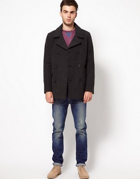 Image 4 ofASOS Wool Coat
