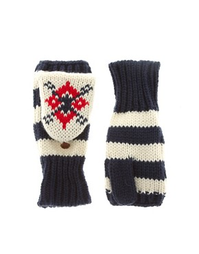 Image 1 ofASOS Fair Isle Converter Gloves