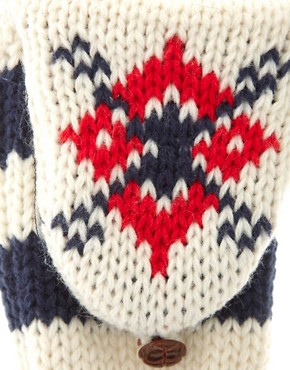 Image 2 ofASOS Fair Isle Converter Gloves