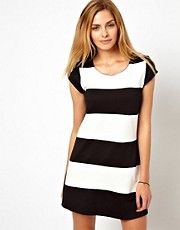 Wal G Stripe Shift Dress