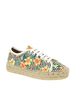 Image 1 ofASOS VANITY Espadrille Flatforms