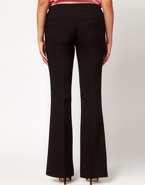 Image 2 ofASOS CURVE Bi-Stretch Bootflare Trousers