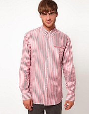 Selected River Stripe Long Sleeve Shirt