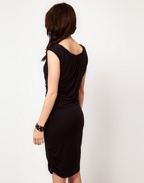 Image 2 ofGestuz Draped Jersey Dress