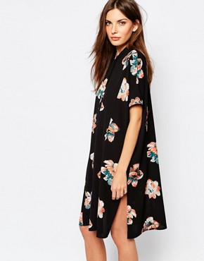 Vila Printed Floral Dress