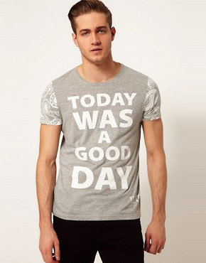 Image 1 ofASOS T-Shirt With Ice Cube Print