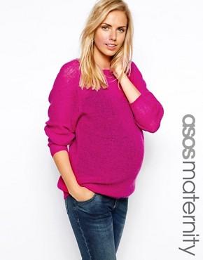 ASOS Maternity Mohair Jumper