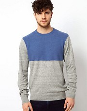 Paul Smith Jeans Jumper with Block Panel
