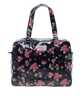 Image 1 ofCath Kidston Large Zip Top Bowling Bag