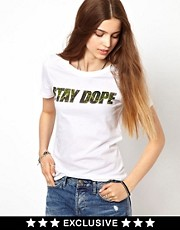 A Question Of Dope Organic T-Shirt Exclusive To Asos