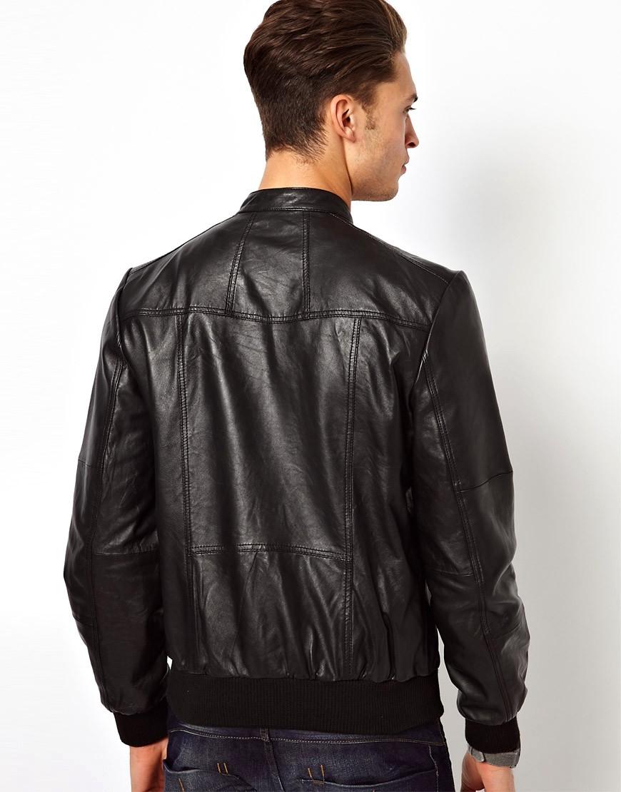 Image 2 ofRiver Island Leather Jacket