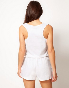Image 2 ofASOS Towelling Beach Playsuit