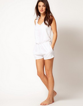Image 4 ofASOS Towelling Beach Playsuit