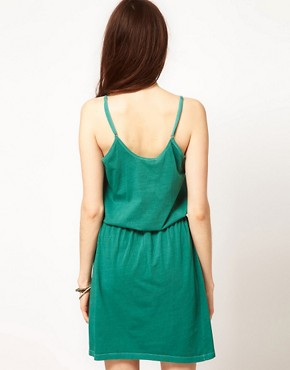 Image 2 ofSelected Erna Easy Jersey Dress in Washed Cotton