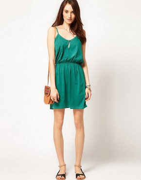 Image 4 ofSelected Erna Easy Jersey Dress in Washed Cotton