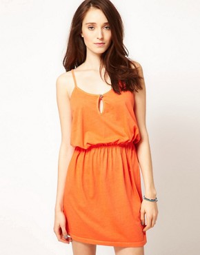 Image 1 ofSelected Erna Easy Jersey Dress in Washed Cotton