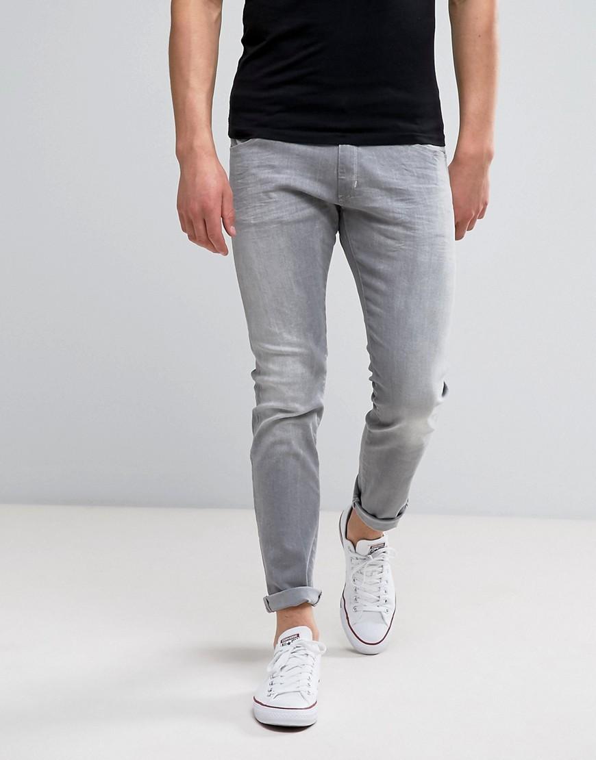 Wrangler Bryson Skinny Jeans X - Gray Wash - Gray